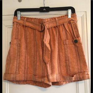 Anthropologie Hei Hei Shorts orange Size XS